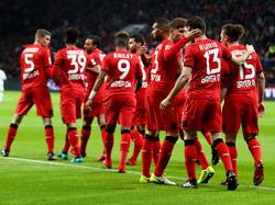 Die Werkself geht das Top-Spiel gegen Bayern München selbstbewusst an