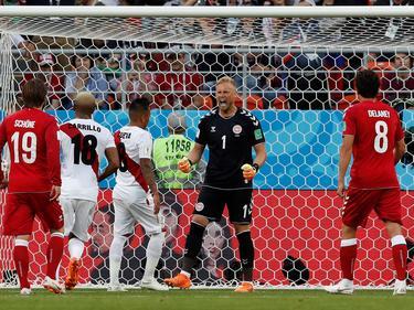 Dinamarca supo traducir en gol sus ocasiones y venció a los peruanos. (Foto: Imago)