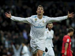 Cristiano volvió a liderar al Real Madrid con un doblete. (Foto: Getty)