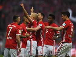 Machtdemonstration der Bayern! Die Münchner gewinnen 4:1 gegen den BVB