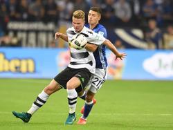 Am Ende hat Schalke klar die Nase vorn