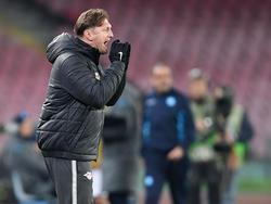 RB-Trainer Ralph Hasenhüttl konnte mit dem Hinspielergebnis eigentlich zufrieden sein