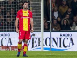 Weer geen punten voor Go Ahead Eagles. Sander Fischer baalt enorm van de 1-4 nederlaag tegen Heracles Almelo. (08-04-2017)
