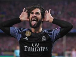 El gol de Isco evitó la remontada del Atlético. (Foto: Getty)