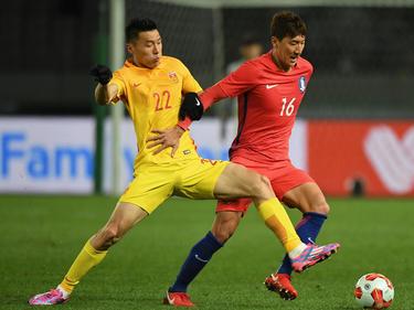 Dämpfer für Südkorea (in rot) bei der Ostasienmeisterschaft