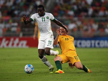 Die saudische Nationalmannschaft hat sich nicht mit Ruhm bekleckert