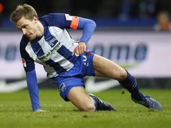 Sebastian Langkamp wird der Hertha ein paar Tage fehlen