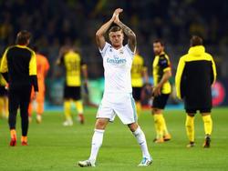 Einer der stärksten Madrilenen in Dortmund: Toni Kroos