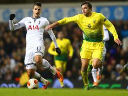 Erik Lamela (l.) könnte Tottenham bei einem passenden Angebot schon im Winter verlassen