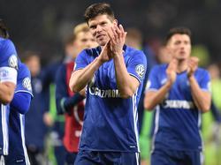 Klass-Jan Huntelaar gab im Pokal gegen Sandhausen sein Comeback