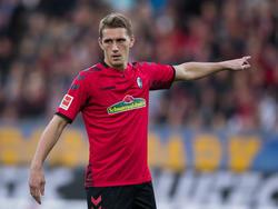 Nils Petersen ist im Nordderby für Werder Bremen