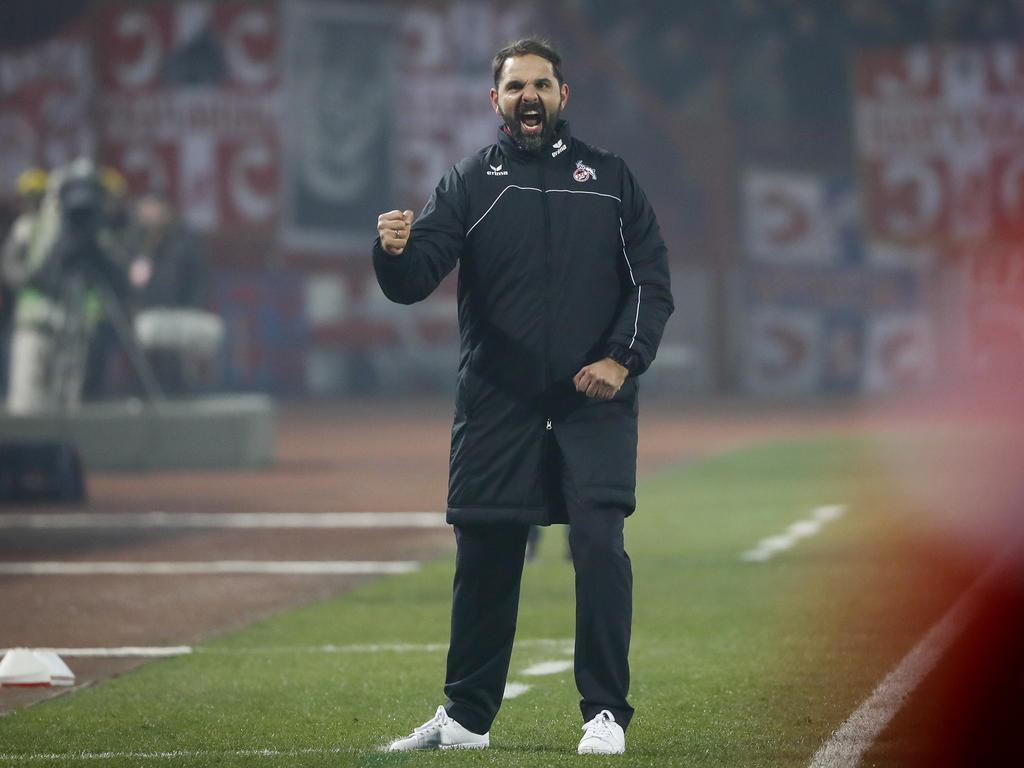 Stefan Ruthenbeck will mit dem 1. FC Köln wieder angreifen