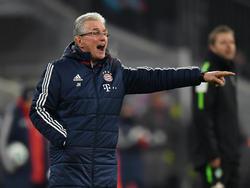Jupp Heynckes freute sich über den Sieg mit dem FC Bayern