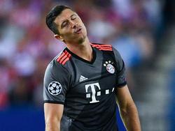 Auch Robert Lewandowski und die Bayern kassierten eine Pleite