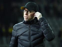 Peter Stöger ist mit dem BVB aus der Europa League ausgeschieden
