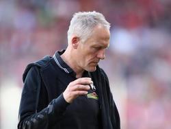Christian Streich muss die Niederlage in Mainz akzeptieren