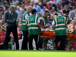 Mohamed Elneny wird nach Ansicht von Arsenal-Trainer Arsène Wenger seine Knöchelblessur bis zur WM auskuriert haben