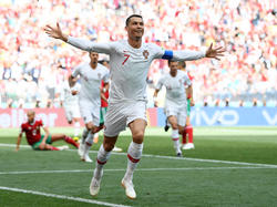 Cristiano Ronaldo ist der erfolgreichste europäische Torschütze
