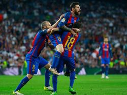 Lionel Messi drückte dem Clásico einmal mehr seinen Stempel auf