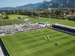 Altach hat das beste Spielfeld zu bieten