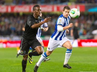 Real Sociedad gegen Racing Santander