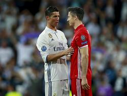 Cristiano Ronaldo und Robert Lewandowski treffen erneut in der Königsklasse aufeinander