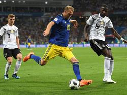 Der Schwede Ola Toivonen ist selbstbewusst vor dem Spiel gegen Mexiko
