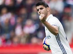 Álvaro Morata steht vor einem Wechsel zum FC Chelsea