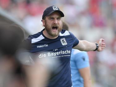 Daniel Bierofka will mit den Löwen in die 3. Liga