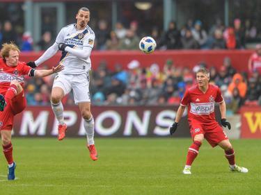 Zlatan Ibrahimovic erzielte das entscheidende Tor im Spiel gegen Chicago