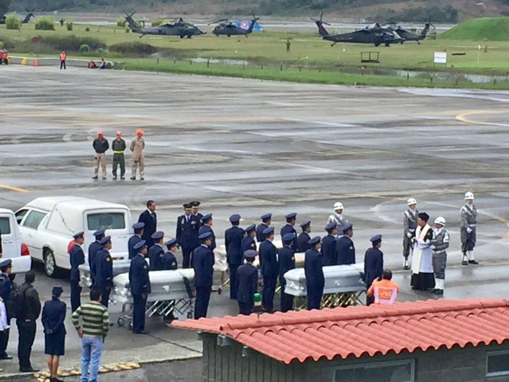 Die Opfer des Flugzeugabsturzeres wurden nach Brasilien überführt