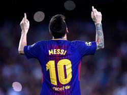 Lionel Messi steht vor seinem 100. Europacup-Tor