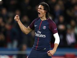Edinson Cavani ist neuer Rekordtorschütze von Paris Saint-Germain