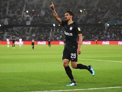 Franco Jara celebra el segundo gol de los mexicanos. (Foto: Getty)