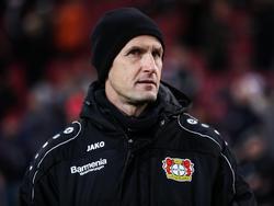 Bayer-Trainer Heiko Herrlich weiß um die Brisanz des Rheinderbys