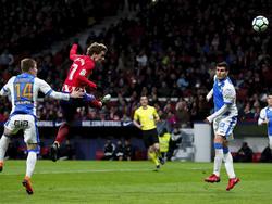 Antoine Griezmann erzielte alle vier Tore