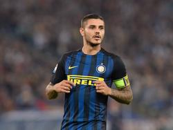 Kein Grund zur Freude für Inter-Kapitän Mauro Icardi