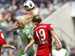 In einem hart umkämpften Spiel gewann der VfL Wolfsburg gegen den FC Bayern