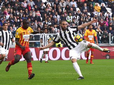 Gonzalo Hinguaín erzielte für Juventus einen weiteren Treffer