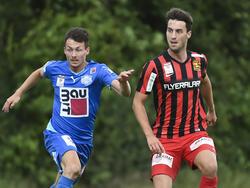 Fabio Strauss konnte unter anderem im Test gegen Wiener Neustadt überzeugen