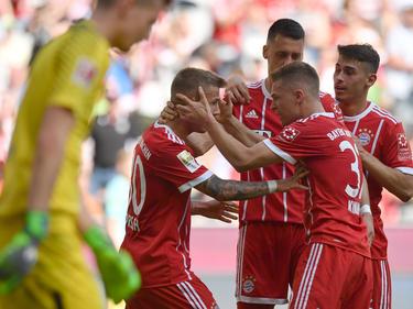 A pesar de tener el campeonato en el bolsillo, el Bayern sigue firme. (Foto: Getty)