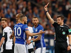 Schalkes Nabil Bentaleb flog früh vom Platz