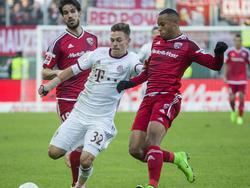 Joshua Kimmich und der FC Bayern kamen in Ingolstadt mit einem blauen Auge davon