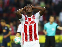 Jhon Córdoba hat in dieser Saison noch kein Tor in der Bundesliga erzielt