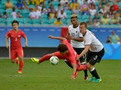 Rettung in letzter Sekunde für das deutsche Team