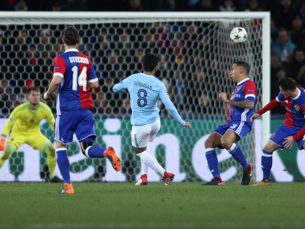 Ilkay Gündogan trifft doppelt bei Sieg von Manchester City in Basel