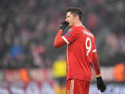 Robert Lewandowski droht Gelb-Sperre in der Champions League
