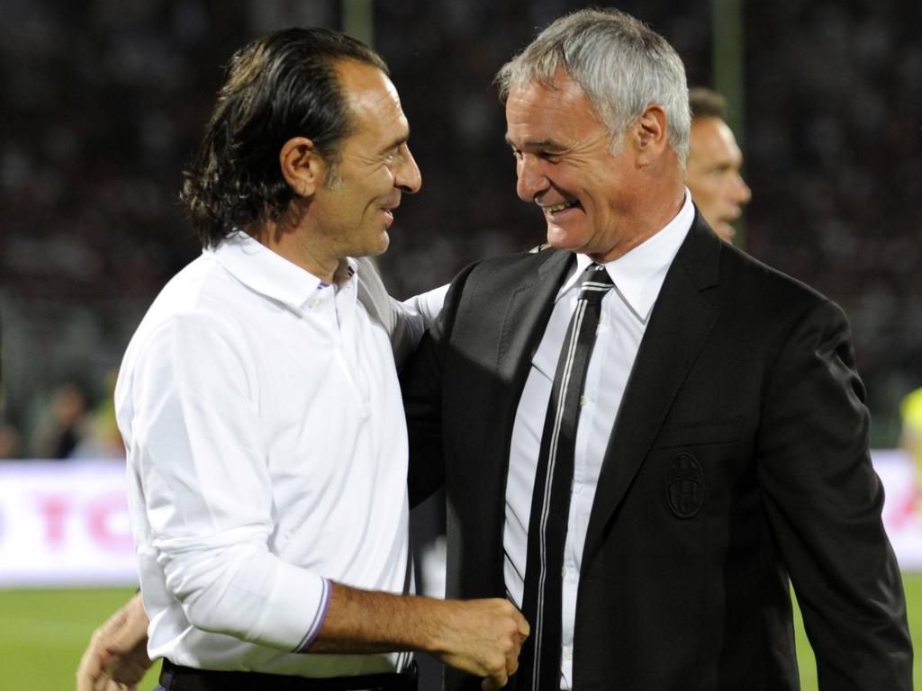 Cesare Prandelli und Claudio Ranieri kennen sich aus Italien