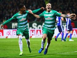 Gebre Selassie (l.) und Kruse (r.) treffen gegen Schalke