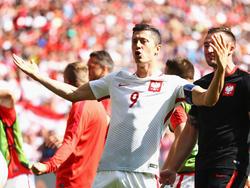 Robert Lewandowski will bei der WM viele Tore für Polen erzielen
